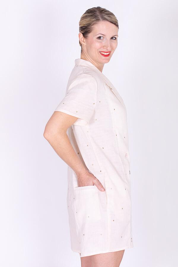 I AM Patterns Ladies Diana Sewing Pattern Playsuit Profile