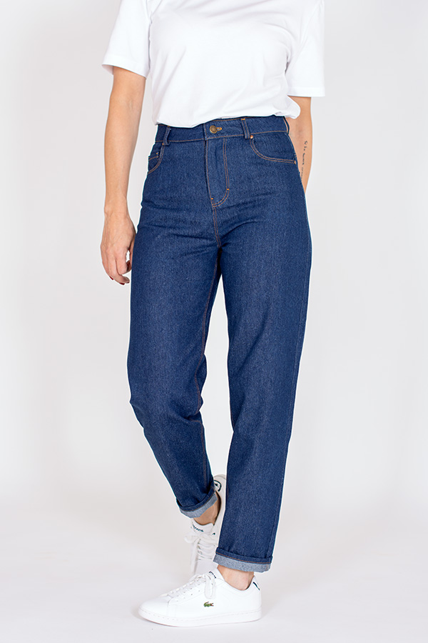 Patron de couture pantalon jeans coupe droite I AM Sunshine