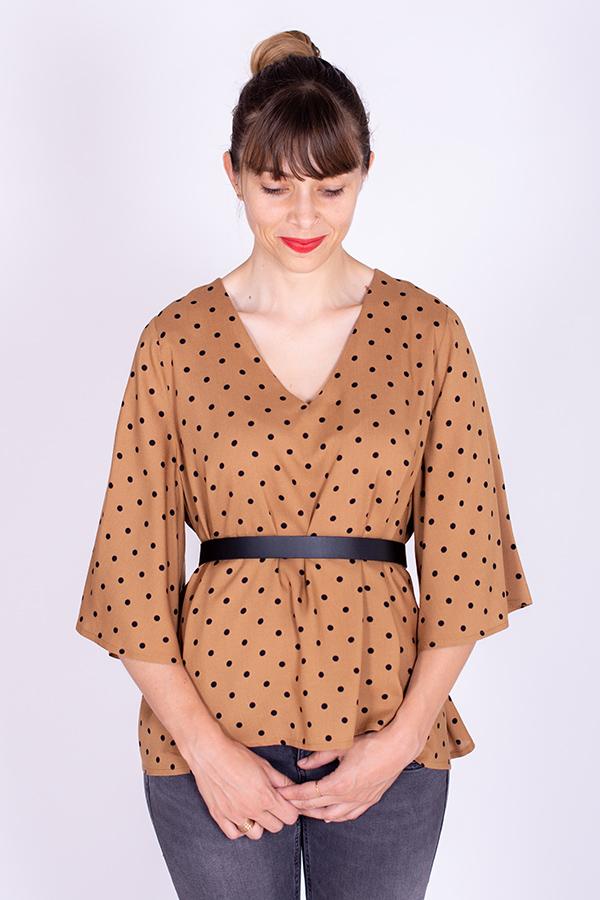 Extension Manches Papillon Patron de Couture Blouse Cinderella