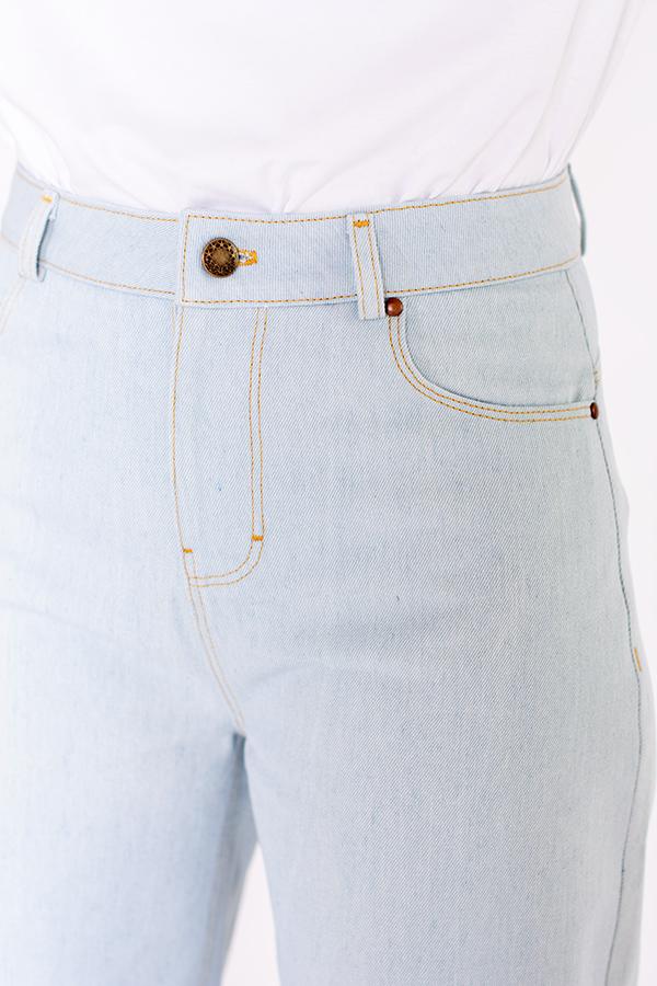 Patron de couture pantalon jeans coupe jambe ballon I AM Sunshine