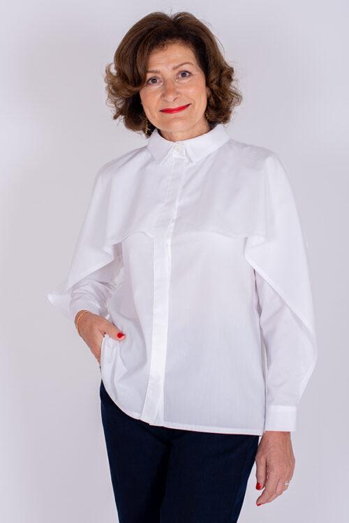 I AM Barbara sewing pattern shirt with flounces